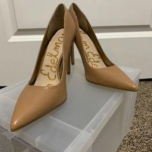"""Sz 7 Sam Edelman """"Dea"""" camel pump heels"""